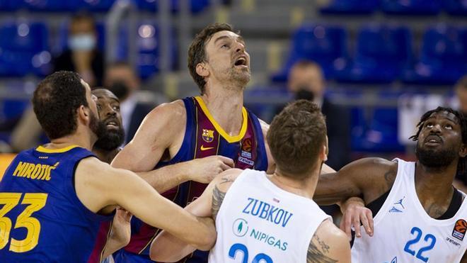 Así celebró el Barça de basket su pase a la final