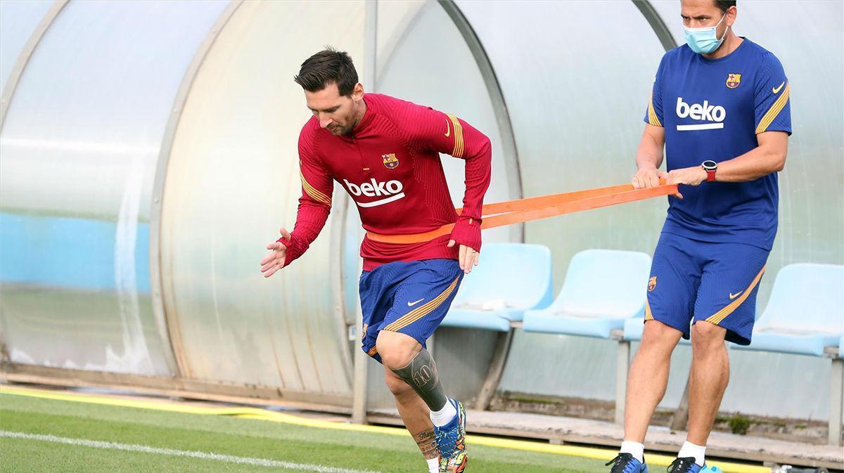 Koeman: Messi en buena forma, es un jugador importantísimo
