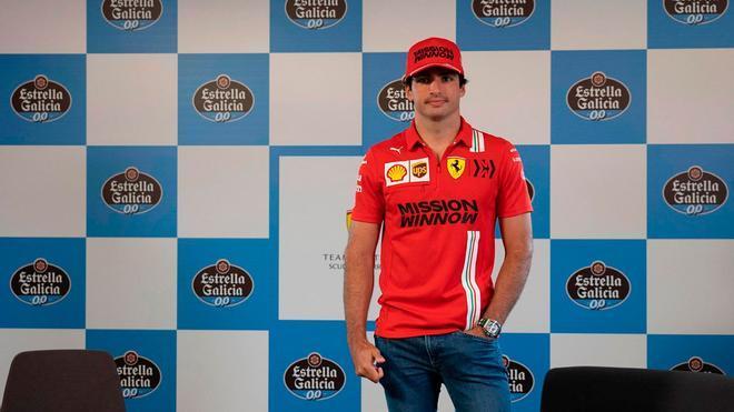Carlos Sainz: Todavía queda para llegar al 100% de mi potencial en Ferrari