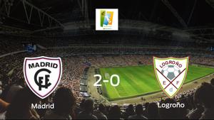 El Madrid CFF suma tres puntos después de vencer 2-0 al Logroño Femenino