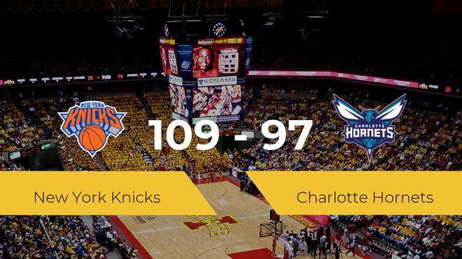 New York Knicks se hace con la victoria contra Charlotte Hornets por 109-97