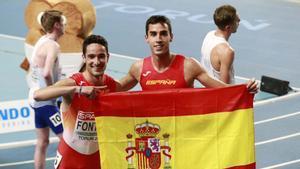 Jesús Gómez e Ignacio Fontes fueron plata y bronce