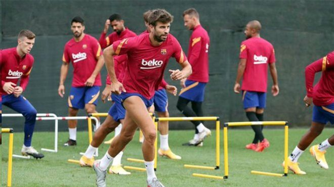Messi tampoco aparece en el entrenamiento vespertino de hoy miércoles