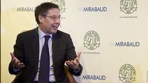 Bartomeu: Jugar a puerta cerrada supone una pérdida de seis millones de euros