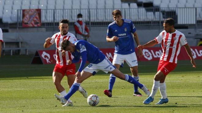A falta de 5 jornadas para culminar el torneo, las posibilidades del Almería de ascender directamente se agotan