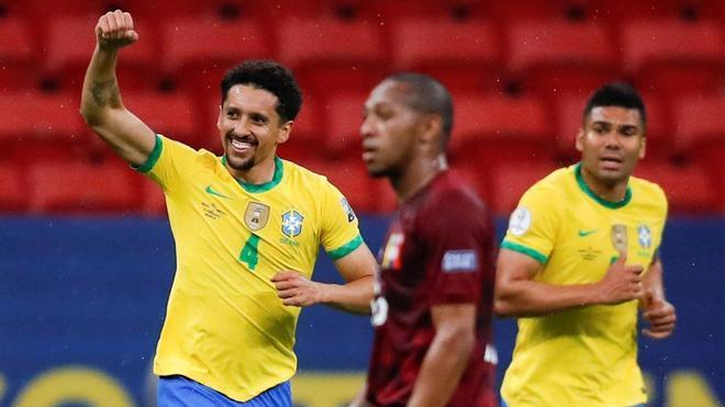 Neymar y Brasil meten miedo desde el principio