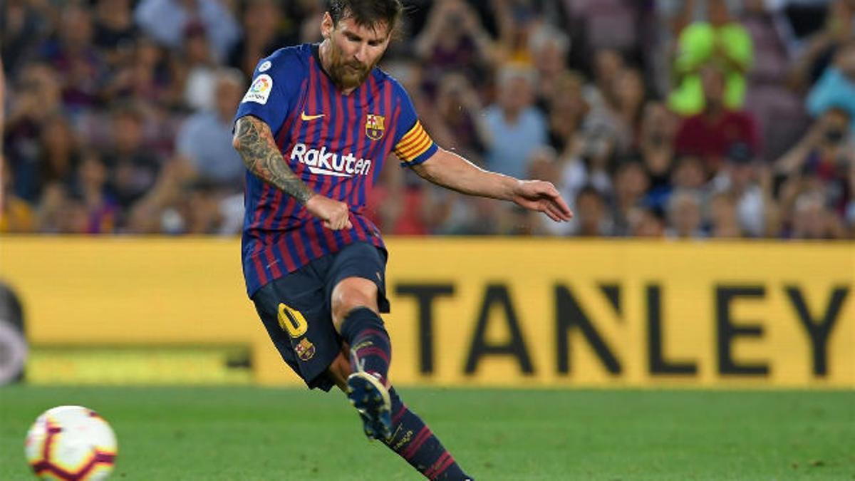 LALIGA | FC Barcelona - Alavés (3-0): La última obra de arte de Messi en forma de falta
