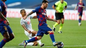 El 2-8 ante el Bayern Munich dolió mucho a Leo y a todo el barcelonismo