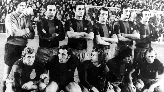 Este fue el mítico once inicial del Barça