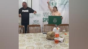 ¡Baile incuido! La madre de Cristiano celebra el empate del Sporting ante el Porto