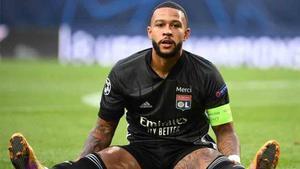 Memphis Depay está molesto con los dirigentes del Olympique Lyon