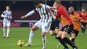 El gol de Morata ante el Benevento no sirvió para lograr la victoria (1-1)