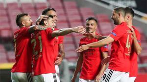 Goleada del Benfica al Standard Lieja