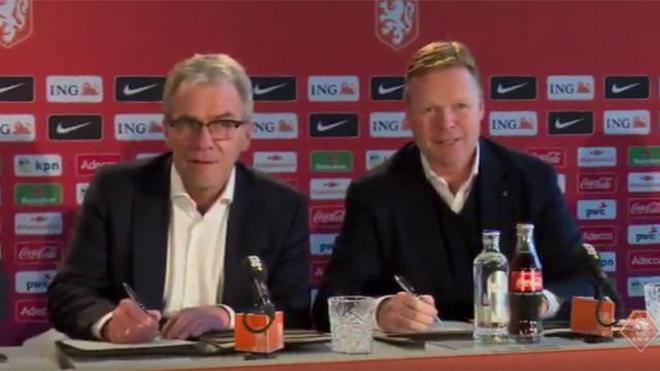 Koeman, nuevo seleccionador holandés