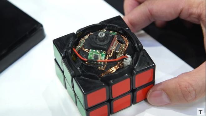 El Cubo de Rubik automático