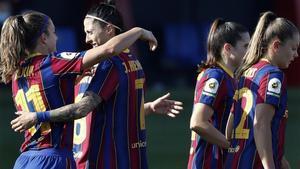 El FC Barcelona lidera la liga con cuatro partidos pendientes