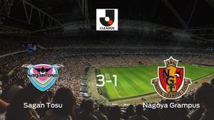 3-1: El Sagan Tosu se impone al Nagoya Grampus en casa