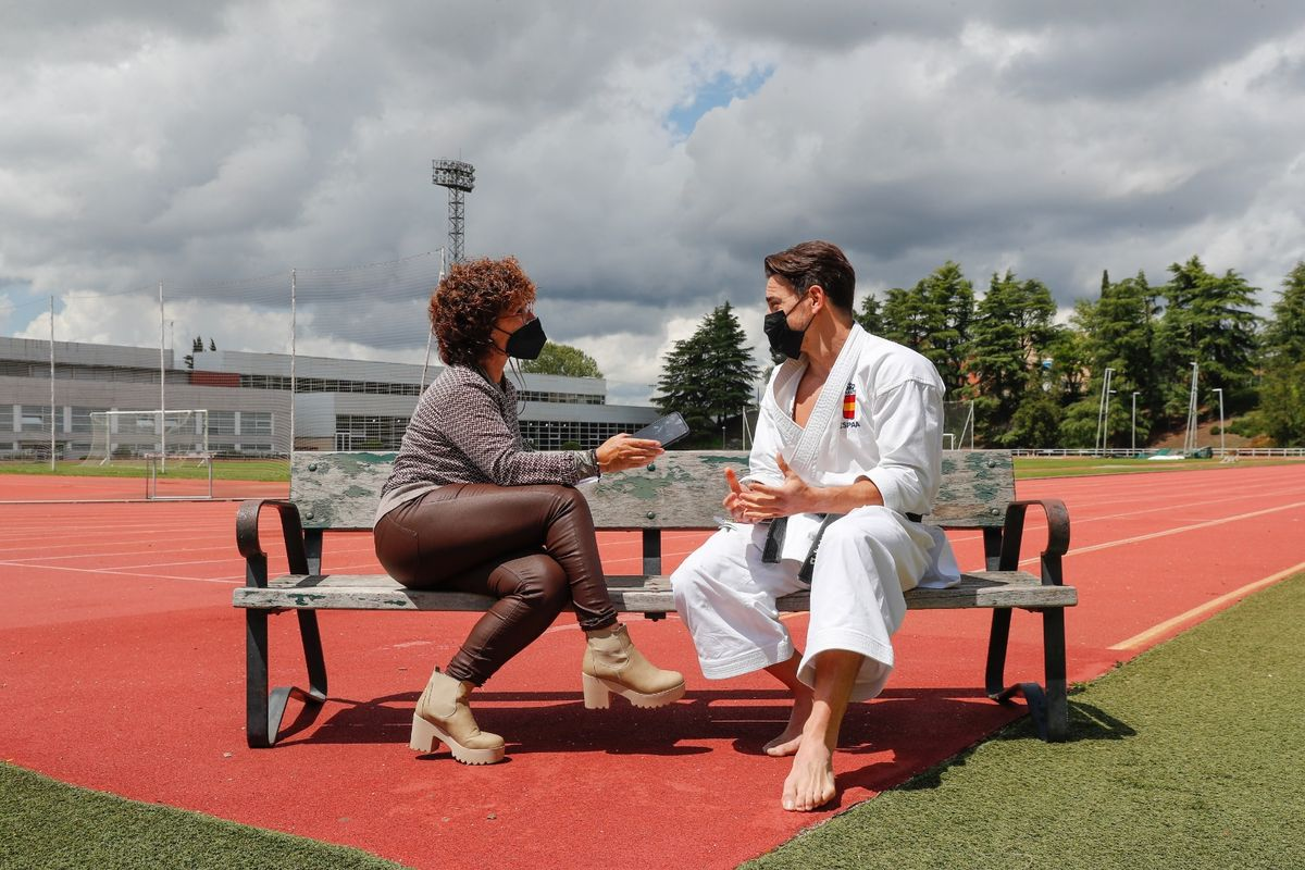 El test de Sport a Damián Quintero antes de los Juegos Olímpicos
