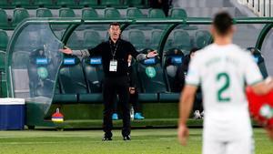 Jorge Almirón fue anunciado como entrenador del Elche el pasado agosto