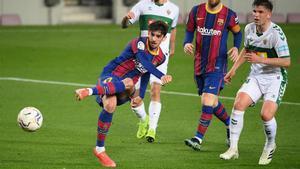 El 1x1 del Barça ante el Elche al descanso