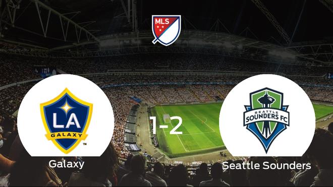 El Seattle Sounders se impone por 1-2 al LA Galaxy