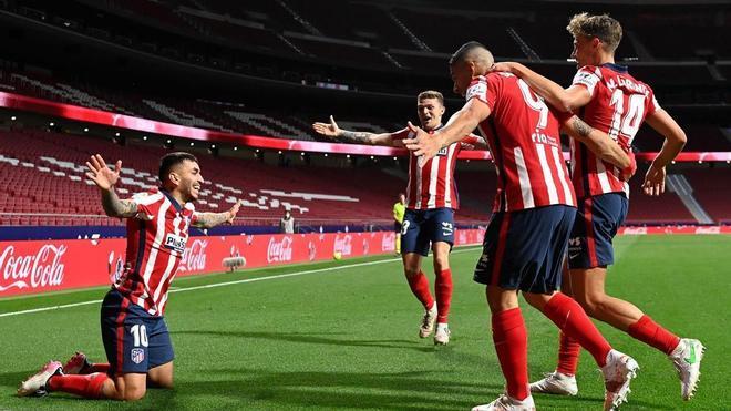 El Atlético afianza el liderato