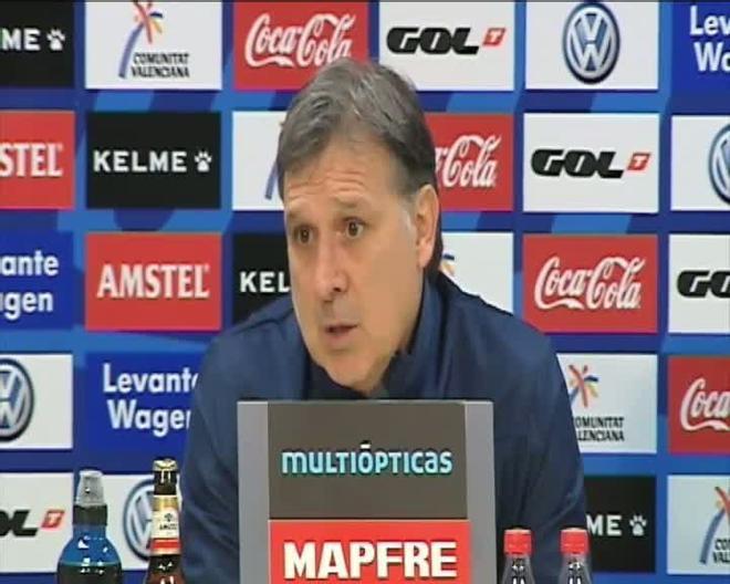 Martino valoró el empate en el Levante-Barça