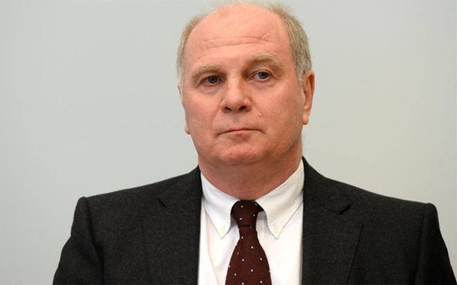 Hoeness, ex presidente del Bayern