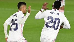 Vinicius se apunta al noventayramos: Salvó un punto para el Real Madrid en el 89