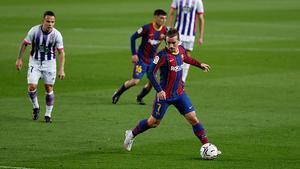 Agónica victoria del Barça ante el Valladolid para luchar por LaLiga