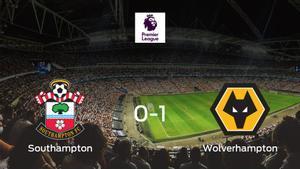 El Wolverhampton Wanderers se lleva tres puntos a casa tras derrotar 0-1 al Southampton