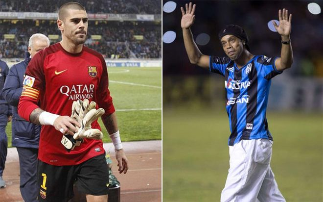 Valdés y Ronaldinho estuvieron cerca de volver a ser compañeros
