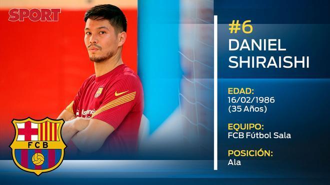 Daniel Shiraishi (FC Barcelona Fútbol Sala)