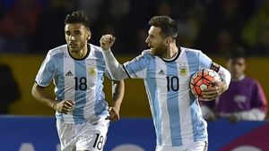 Ecuador-Argentina (1-3)