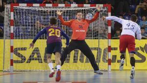 El Barça se enfrentó al Meshkov Brest hace dos temporadas