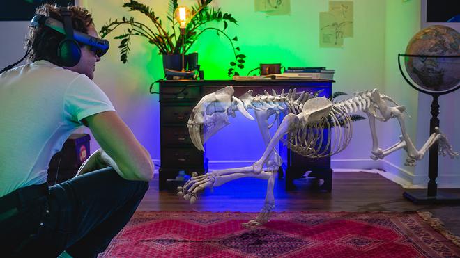 Museum Alive te permite ver dinosaurios en tu habitación