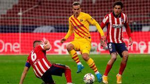 Griezmann, ante el Atlético de Madrid