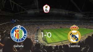El Getafe B suma tres puntos después de derrotar 1-0 al RM Castilla