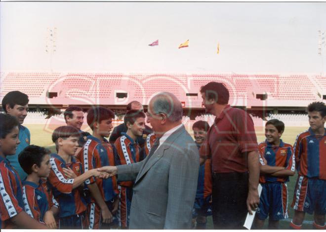 2.Xavi Hernández 1993-94
