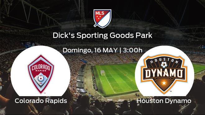 Previa del encuentro: el Colorado Rapids recibe al Houston Dynamo en la séptima jornada