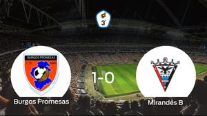 Los tres puntos se quedan en casa: Burgos Promesas 1-0 Mirandés B