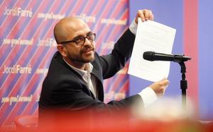Jordi Farré fue precandidato en 2015