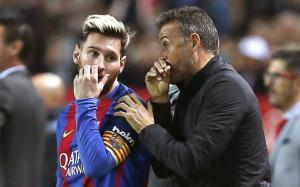 Lucho y el Barça echaron de menos a Messi