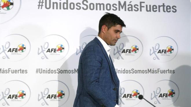 Aganzo, presidente de la AFE