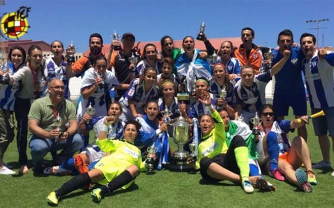 El Sporting de Huelva se proclama campeón de la Copa Reina