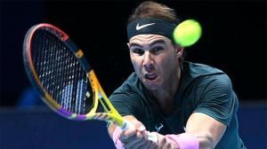 Plácido debut de Rafa Nadal en las ATP Finals