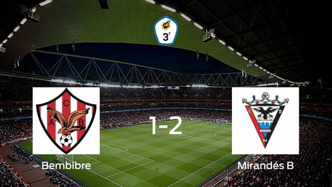 El Mirandés B se lleva los tres puntos frente al Atl. Bembibre (1-2)