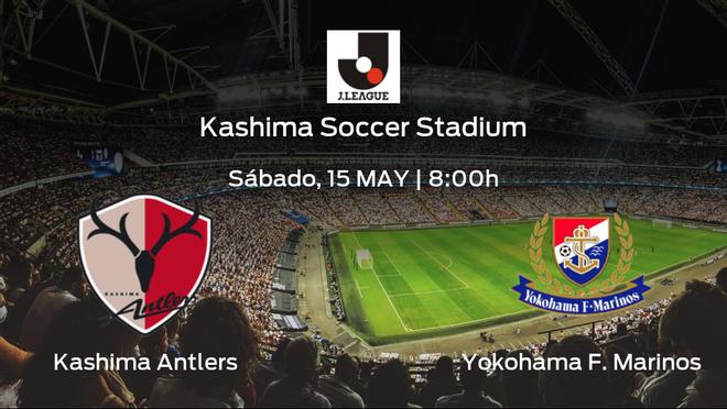 Previa del encuentro: Kashima Antlers - Yokohama F. Marinos