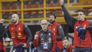 Jordi Ribera, muy satisfecho con sus jugadores
