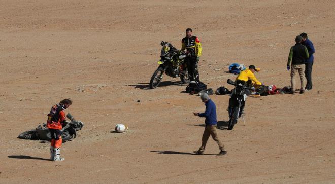 La muerte de Paulo Gonçalves en 2020 conmocionó a la caravana del Dakar